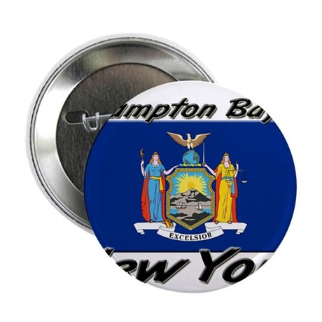 "Hampton Bays New York 2.25"" Button"