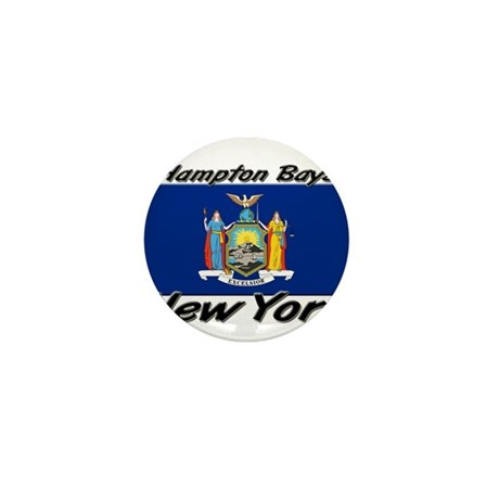 Hampton Bays New York Mini Button