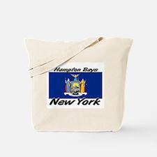 Hampton Bays New York Tote Bag