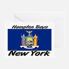 Hampton Bays New York Greeting Card