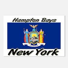 Hampton Bays New York Postcards (Package of 8)