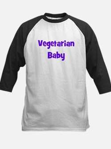 Vegetarian Baby - Multiple Co Kids Baseball Jersey