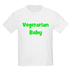 Vegetarian Baby - Multiple Co Kids T-Shirt