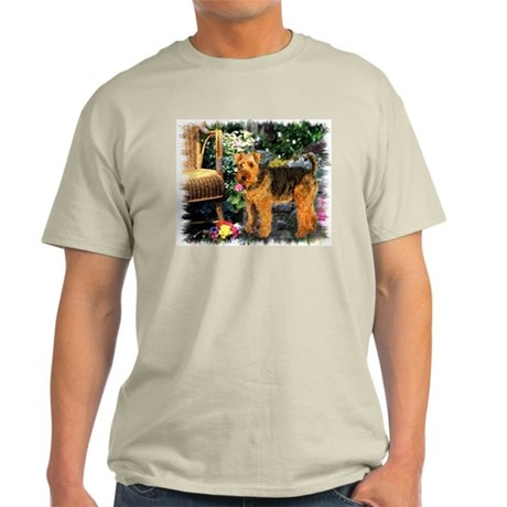 Welsh Terrier Art Light T-Shirt