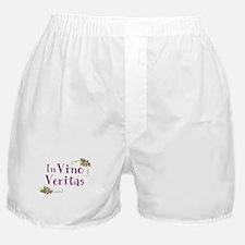 In Vino Veritas Boxer Shorts