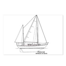 Offshore 31 Ketch Postcards (Package of 8)