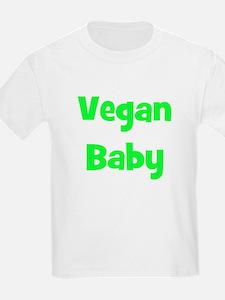 Vegan Baby - Multiple Colors Kids T-Shirt