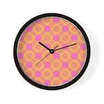 Gusto Sherbert Wall Clock