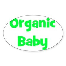 Organic Baby - Multiple Color Oval Decal