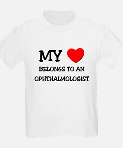 My Heart Belongs To An OPHTHALMOLOGIST T-Shirt