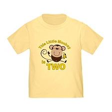 Little Monkey 2nd Birthday Boy T