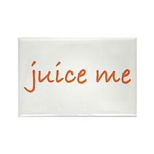 Juice Me Rectangle Magnet
