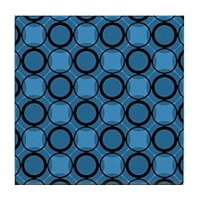 Gusto Blues Tile Coaster