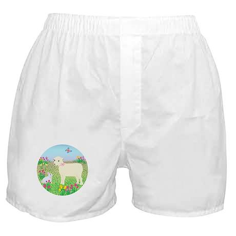 Baby Lamb & Bunny Boxer Shorts