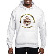 Navy Gold Grandson Hoodie