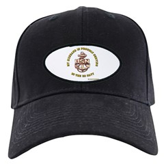 Navy Gold Husband Baseball Hat