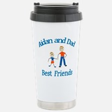 Aidan & Dad - Best Friends Travel Mug