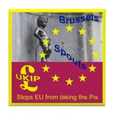 UKIP Tile Coaster X rated