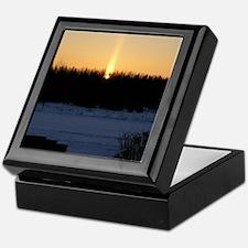 Orange Sunrise Keepsake Box