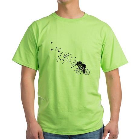 Free as a Bird Green T-Shirt