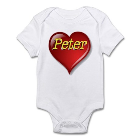 The Great Peter Heart Infant Bodysuit