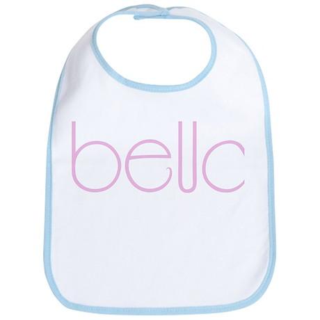 Bella pink Bib