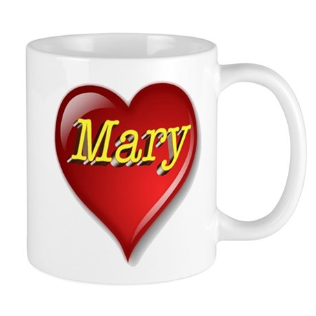 The Great Mary Heart Mug