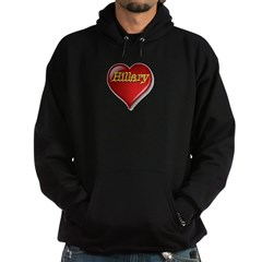 The Great Hillary Heart Hoodie