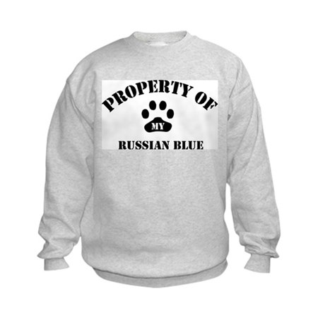 My Russian Blue Kids Sweatshirt