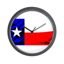 Texas T's Wall Clock