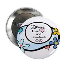 Breastfeeding Advocate Button