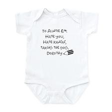 Dear Auntie Em Infant Bodysuit