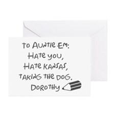 Dear Auntie Em Greeting Cards (Pk of 20)