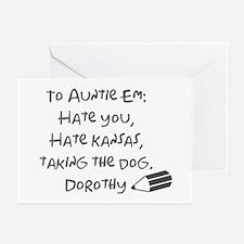 Dear Auntie Em Greeting Cards (Pk of 10)