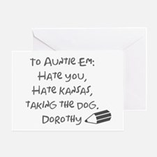 Dear Auntie Em Greeting Card