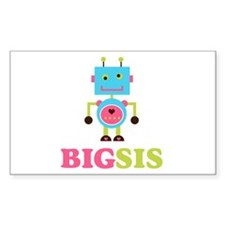 Lilly Bella Designs Rectangle Sticker 10 pk)