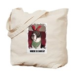 WHERES SANTA? GREAT DANE  Tote Bag
