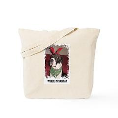 WHERES SANTA? GREAT DANE Tote Bag