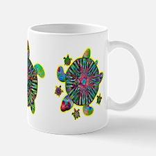 Colorful Sea Turtle Mug