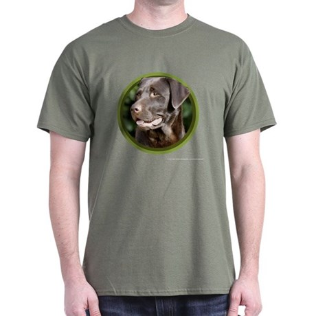 Chocolate Labrador Retriever Dark T-Shirt