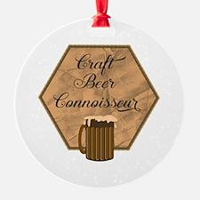 Craft Beer Connoisseur Ornament