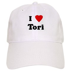I Love Tori Baseball Cap