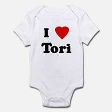 I Love Tori Infant Bodysuit