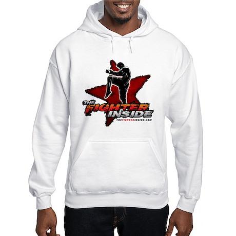 TheFighterInside.com Hooded Sweatshirt