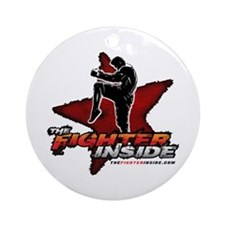 TheFighterInside.com Ornament (Round)
