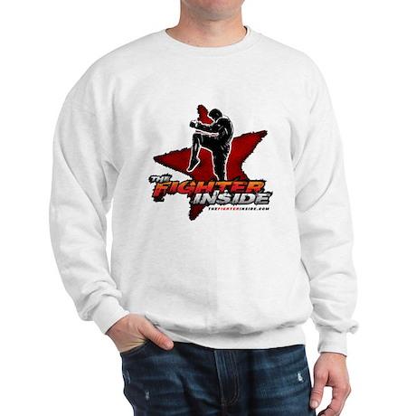 TheFighterInside.com Sweatshirt