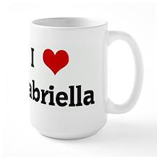 I Love Gabriella Mug