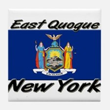 East Quogue New York Tile Coaster