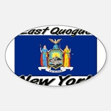East Quogue New York Oval Decal