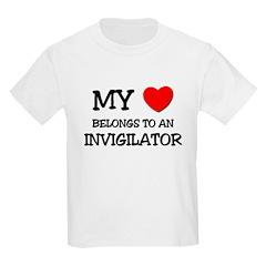 My Heart Belongs To An INVIGILATOR T-Shirt